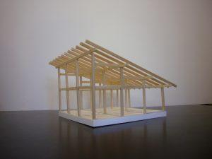 軸組模型1